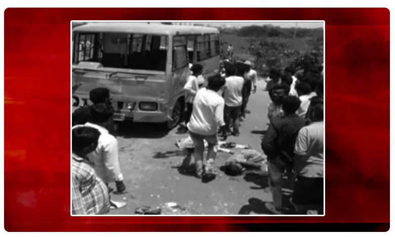3 Students Died In Road Accident At Vemulawada