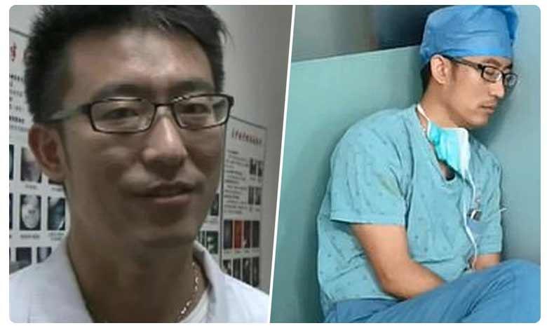 Surgeon is hailed as a hero for completing seven operations without a break before falling asleep on the floor