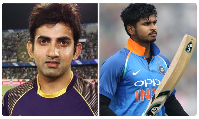 Gautam Gambhir backs Shreyas Iyer to claim India's number 4 spot