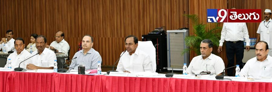 Cm Kcr Meeting with District Collectors, ప్రగతి భవన్ లో కలెక్టర్ల సమావేశానికి హాజరైన  సీఎం కేసీఆర్ ఫొటోస్