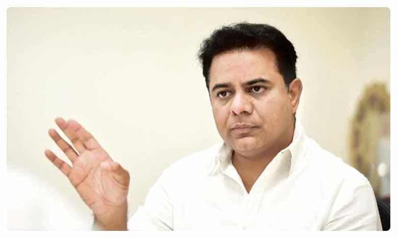 TRS Working President KTR Fires on BJP Leader JP Nadda