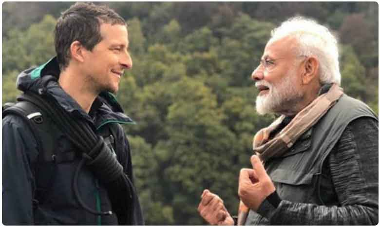 Story On PM Modis Man vs Wild Episode, 18 ఏళ్ల తర్వాత సెలవు తీసుకున్నా..