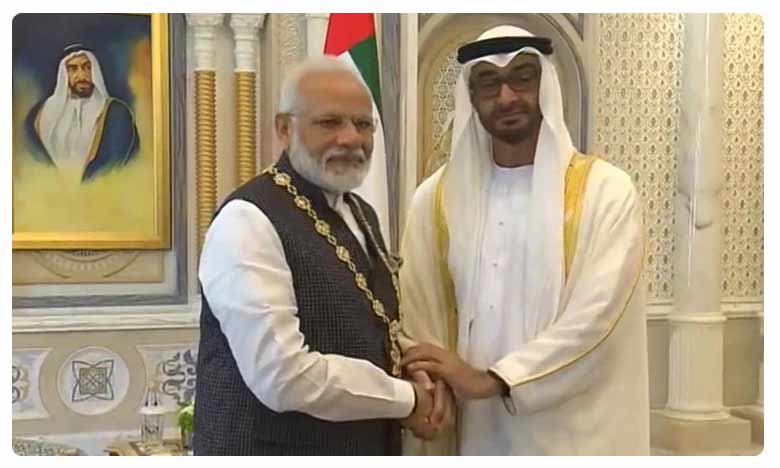 PM Modi conferred with Order of Zayed, UAE's highest civilian award
