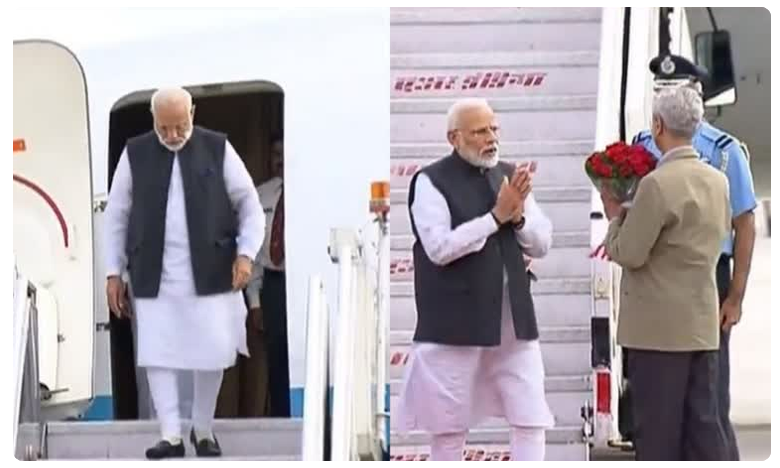 PM Modi returns home after successful two-day visit to Bhutan