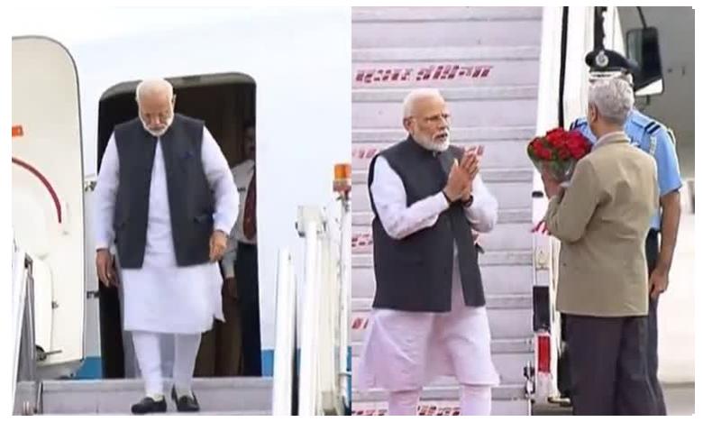 PM Modi Arrives in Bhutan on Two-day Visit to Promote 'Time-tested Friendship' Between Nations, భూటాన్ పర్యటన అనంతరం స్వదేశం చేరుకున్న మోదీ!