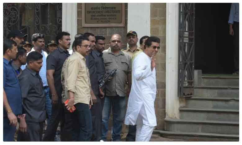 Raj Thackeray Being Questioned At EDs Mumbai Office For Probe Into IL&FS Case