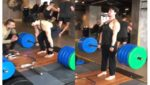 iger Shroff Deadlifts 200KG With an Ease, Impresses Ishaan Khatter and Fans
