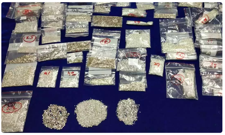 """Malaysian arrested with diamonds worth Rs 2.25 crore at Chennai airport, చెన్నై ఎయిర్ పోర్టులో """"మలేషియన్ డైమండ్స్"""".. వ్యక్తి అరెస్ట్"""
