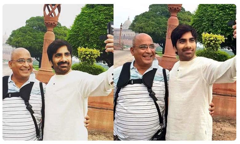 Ravi Teja's new look pic turns viral, సారీ బాస్..ఇది ఫేస్ యాప్!