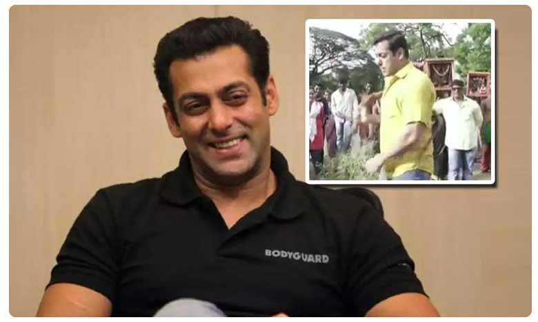 Watch: Salman Khan Hits Himself With Rope in Latest Viral Video on Instagram