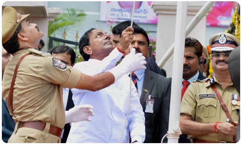 Live Updates: Telangana CM KCR Hoists Flag at Golconda Fort in Hyderabad, సీఎం కేసీఆర్ స్పీచ్ హైలెట్స్: