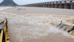 flood flow down prakasam barrage