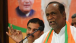 BJP state president laxman alleged Trs governoment on power