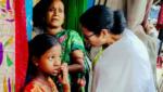 Mamata Banerjee Slum Visit