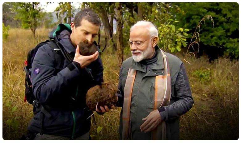man vs wild episode with pm modi records historic ratings