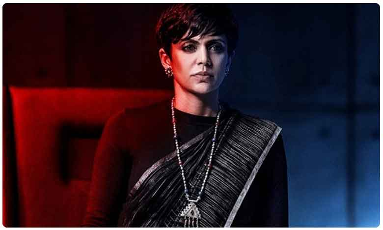 Sahoo Lady Villian Look Released, Mandira Bedi Swags In Style