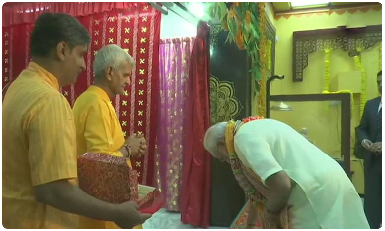 in bahrain, pm modi launches $4.2 million project at 200 year old temple