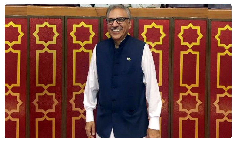 Pak President Arif Alvi provokes India calls for 'social media war' against New Delhi for revoking Art 370, పాక్ నోటా జీహాదీ పాట