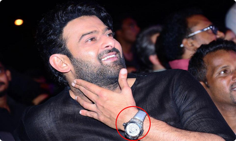 Saaho Prabhas Expensive Watch, Viral In Social Media