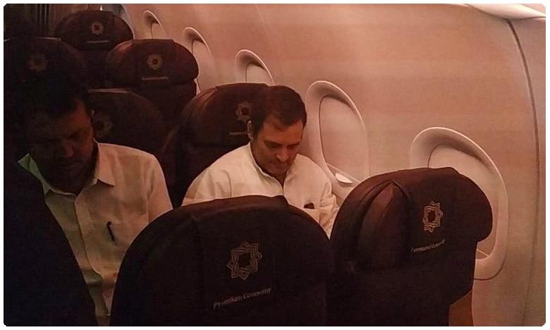 kashmiri woman narrates her ordeal to rahul gandhi on flight