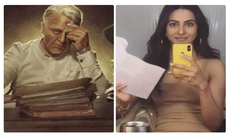 Rakul Preet Singh in Indian 2