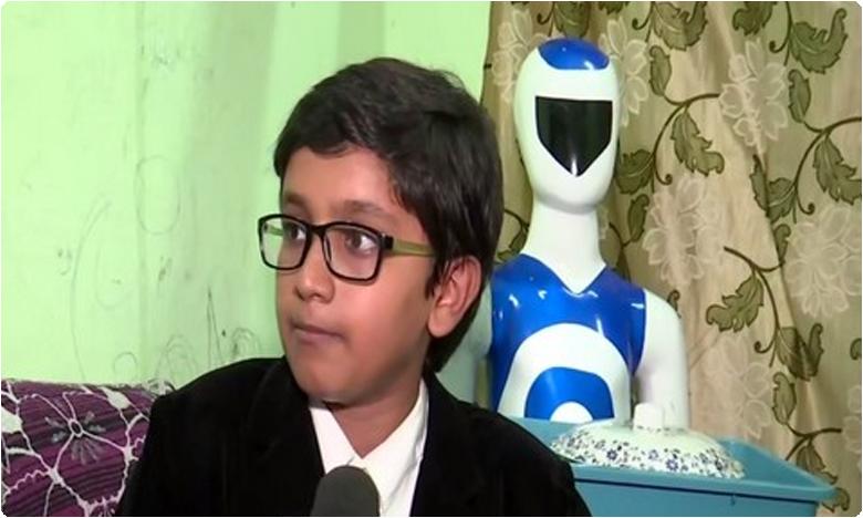 young genius develops serving robot