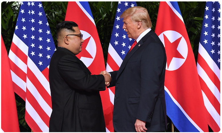 Trump says wife has gotten to know kim jong un, కిమ్ గురించి నా భార్యకు తెలుసు.. ట్రంప్.. అబ్బే ! లేదన్న వైట్ హౌస్ !