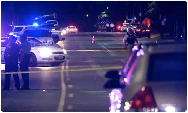 Eight years girl was shot dead in St. Louis near a high school, అగ్రరాజ్యంలో కాల్పుల కలకలం..