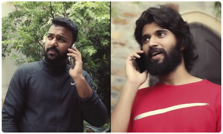 Vijay Devarakonda Announces His Maiden Production