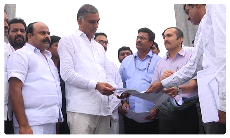 MLA Harish rao praises synthetic walking track