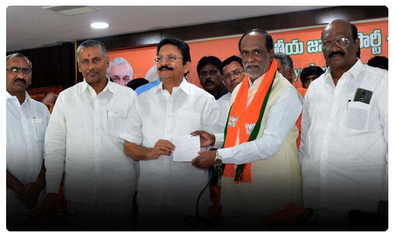 Vidyasagar Rao take BJP membership afresh after stepping down as Maharashtra Governor, బీజేపీ సభ్యత్వం తీసుకున్న మహారాష్ట్ర మాజీ గవర్నర్