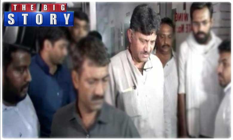 hawala..ed arrests shivakumar in delhi