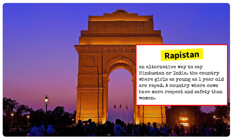 Urban Dictionary Calls India 'Rapistan' and We Don't Know How to Feel