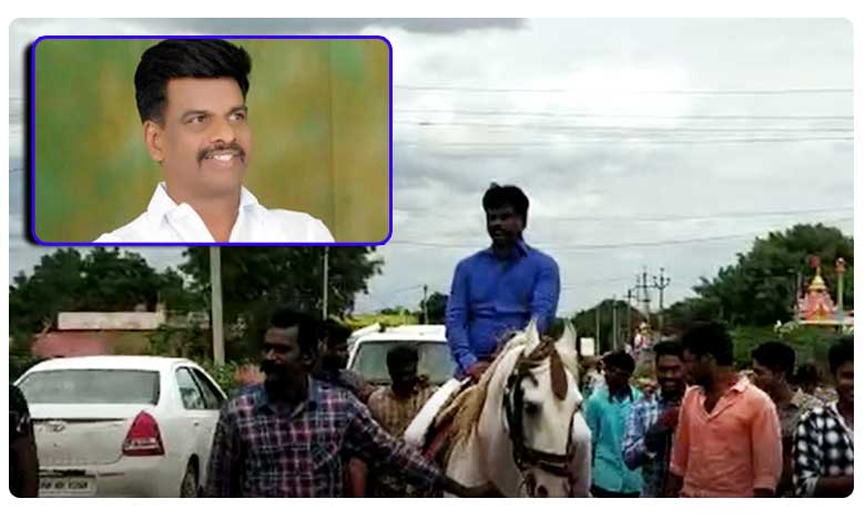 YCP MP Gorantla Madhav Horse Riding Video Goes Viral