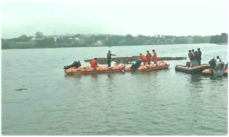 Video Of 5 Minutes Before Godavari Boat Accident