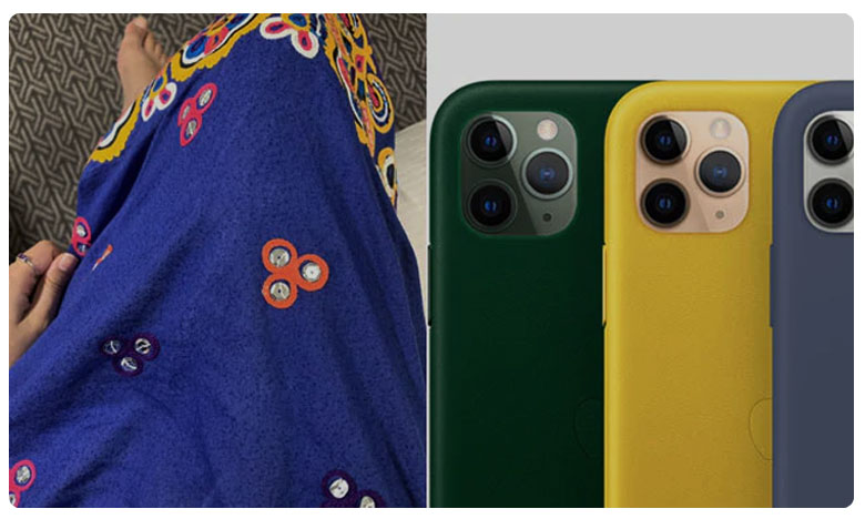 Malala shared a pic of the dress she wore on the day of Apple event, ఐ ఫోన్ నేనూ.. సేమ్ టూ సేమ్