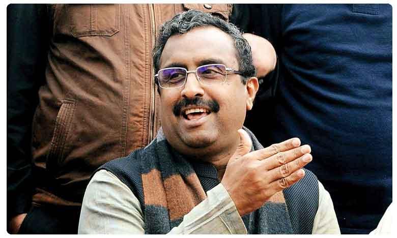 BJP Leader Ram Madhav Praise PM Narendra Modi over Article 370, ఏపీ ప్రభుత్వానికి స్పష్టత లేదు:  రాంమాధవ్