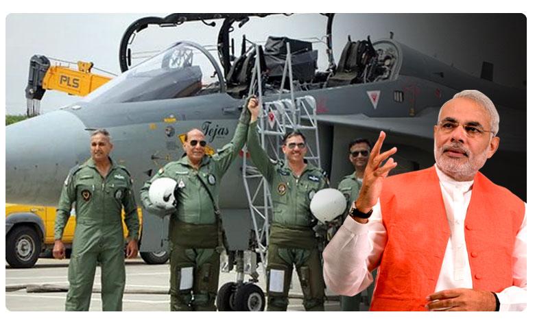 "self-sustenance-in-defense-tejas-aircraft, రక్షణ రంగంలో స్వావలంబన : క్రెడిట్ ""నమో"" దే !!"
