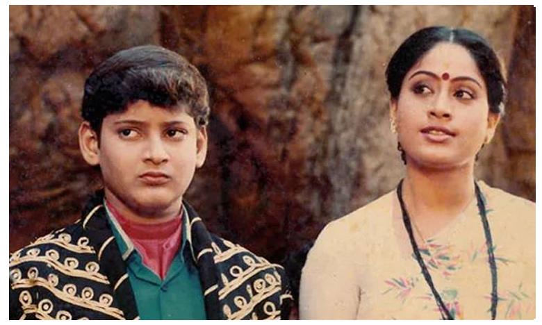Mahesh tweets nostalgic picture, after reuniting with Vijayashanti