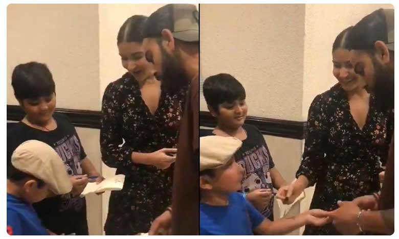 7-Year-Old Indian Fan 'Turns The Table' On Virat Kohli & His Wife Anushka Sharma In Jamaica