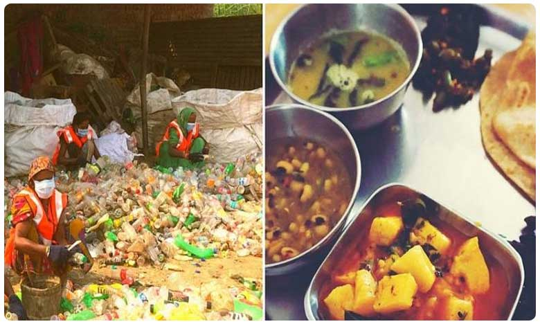 Exchange plastic waste for free meal here