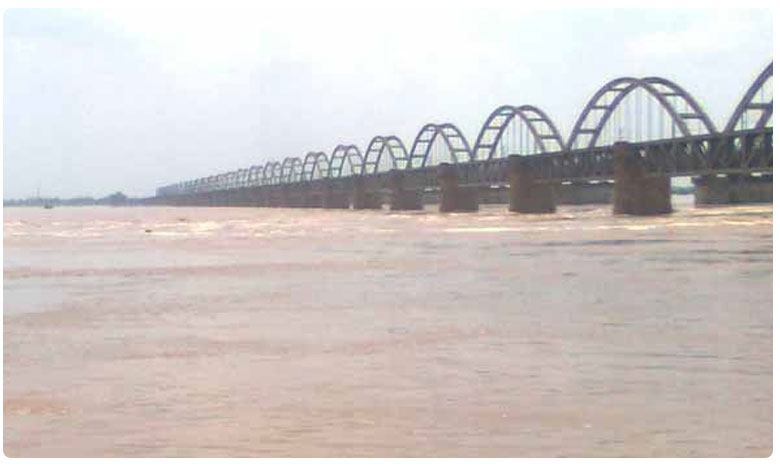 Godavari river water level increased at Bhadrachalam