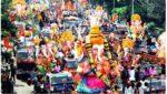 Ganesh immersion in Tenali, నిమజ్జనం సమయంలో నదిలో పడిన యువకుడు
