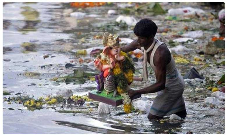 say no to plaster of paris ganesh idols ,thermocol ,palastic decorarions