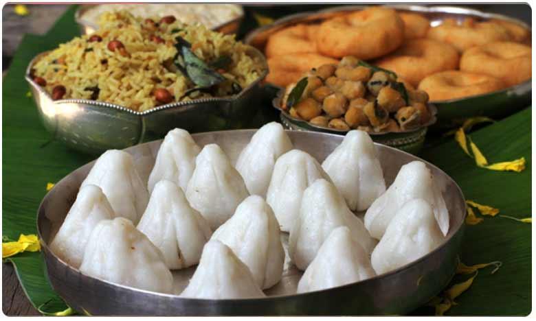 Hyderabad hotel offers Vinayaka Chavithi Prasadalu Home delivery