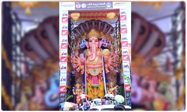 Arrangements all set for Lord Vinayaka immersion says Ganesh Utsav Committee, గణేష్ నిమజ్జనానికి భారీగా బందోబస్తు..!