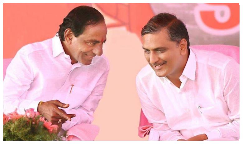 KCR and Harish Rao