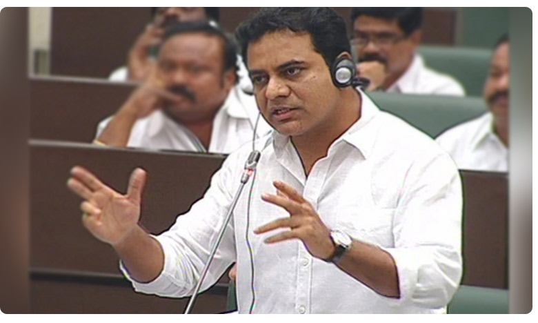 IT growth is 17 percent in Hyderabad says Minister Ktr in assembly