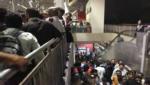 Woman Dies After A Piece Of Slab From Hyderabad Metro Rail Station Falls On Her Head, పైన పటారం.. లోన లొటారం.. మెట్రో దూకుడుకు బ్రేక్ పడిందా..?