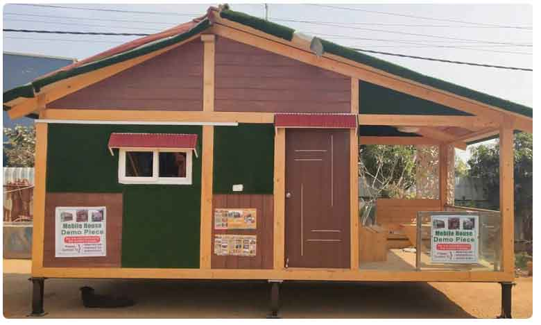 Mobile wooden housing new trend in Hyderabad
